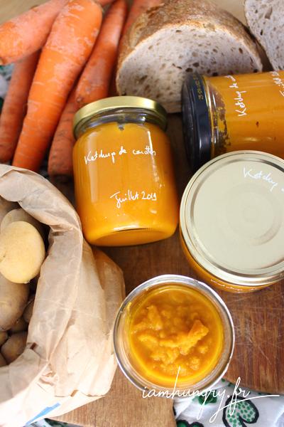 Ketchup de carottes
