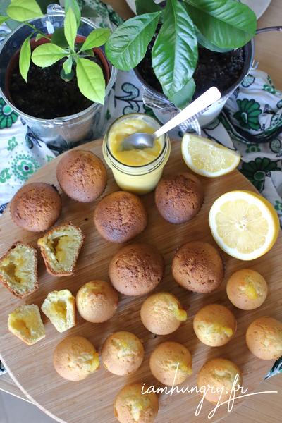 Muffins au coeur de citron
