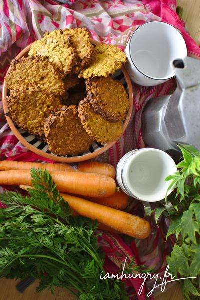 Cookie aux carottes et épices