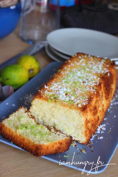 Gâteau coco et citron vert