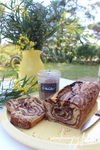 Gateau marbre%cc%81 cacao vanille rect