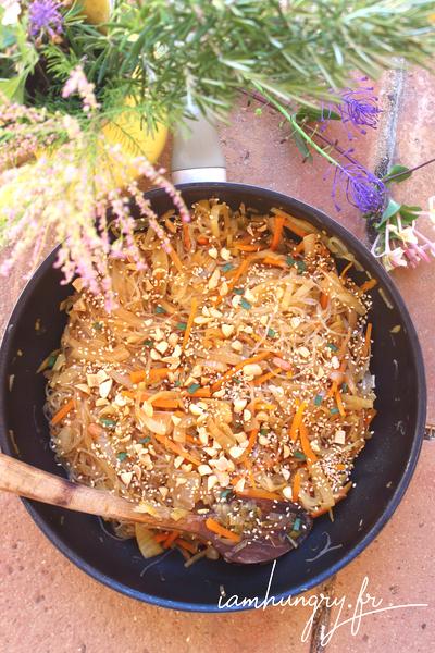 Légumes lactofermentés sautés au soja