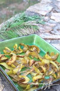 Chips d epluchures de patates rect
