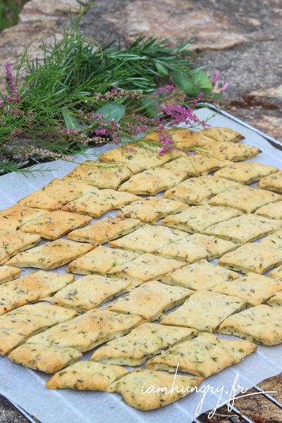Crackers au levain