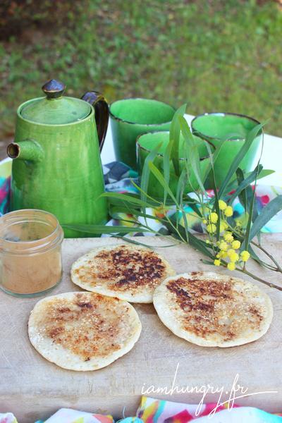 Pancakes de levain à la cannelle
