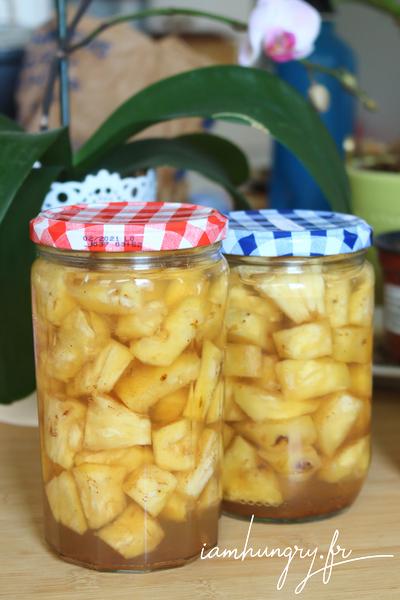 Ananas au sirop