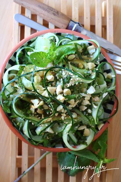 Salade de concombre asiatique