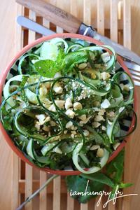 Salade de concombre asiatique rect