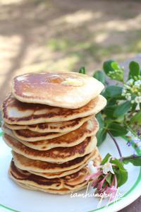 Pancakes au levain rect