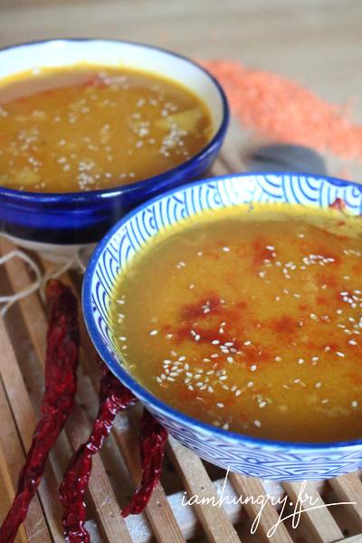 Soupe turque aux lentilles corail