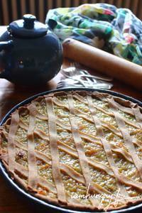 Tarte rhubarbe rect